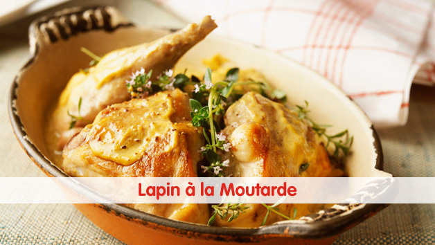 lapin moutarde